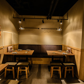 個室のような感覚のプレイベート感抜群のテーブル席になります♪カップルや女子会でのご利用にぜひ!