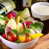 美味しい野菜を使用したヘルシーな料理♪