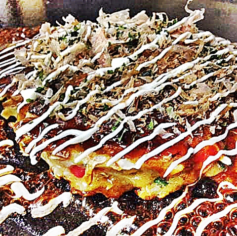 阿佐ヶ谷で関西風の本格的お好み焼き&もんじゃ焼き&鉄板焼きが楽しめます♪♪