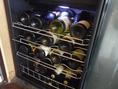 ワインも豊富にご用意しております。