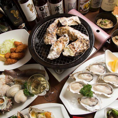 当店は全国生産地から直送の生牡蠣/焼き牡蠣/蒸し牡蠣を盛りだくさんで楽しめる牡蠣ダイニング♪下町ならではのフレンドリーさでワイワイ楽しく食べ放題でもできますよ。