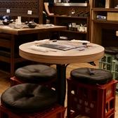 博多 もつ鍋 おおやま カウンター KITTE 博多店の雰囲気3