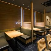 半プライベート空間でお食事をご堪能いただけるボックス席。ご家族様でのお食事や女子会などにぜひご利用ください。※分煙