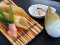 料理メニュー写真たけのこ お寿司 小鉢