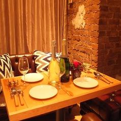 女子会やパーティーにピッタリなソファー席の個室♪♪/あの【 Sea 】のDesignerが創り上げたオシャレなアンティーク空間で楽しんで下さい♪♪/★☆貸切パーティー(8名~貸切OK!!)☆★