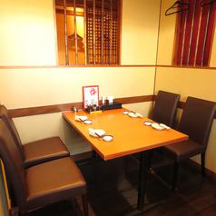 テーブル席も2卓ございますので様々なシーンに対応出来ます♪