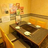 広々としたテーブル席でごゆっくりお食事をお楽しみください!