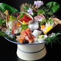 料理メニュー写真特選鮮魚八種盛り【番屋 鬼盛り】