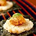 料理メニュー写真生雲丹と焼き飯