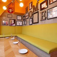 広々としたソファ席。パーティーにもオススメ☆一つの空間を貸切状態でご利用いただけます♪