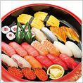 4320円(税込)~  ヘルシーな日本料理として世界的知名度の「にぎり寿司」 お箸を使わないので外国の方も敷居が高くないのでは?