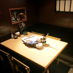 2~4名様用個室テーブル席