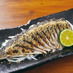料理メニュー写真長崎県産炙り〆鯖
