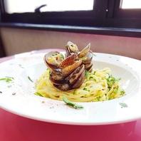 イタリア料理=パスタ。これが、パスタ料理。