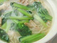 じっくり煮込んだスープ