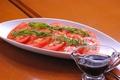 料理メニュー写真トマトのカルパッチョ