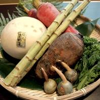 北海道ではなかなか味わえない京野菜もふんだんに使用!