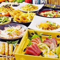 [なんば駅前]飲み放題付宴会コースは7種で完全個室用意!
