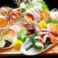 佐渡の鮮魚を使った豪華海鮮を取扱っております!当店自慢の鮮魚とお酒をゆっくりお酒ををお楽しみください。富山駅前でお酒と鮮魚も楽しめる居酒屋です!