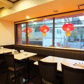 関帝廟通りを見ながら美味しいお料理をご堪能ください♪