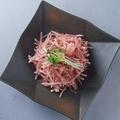 料理メニュー写真梅かつお大根サラダ