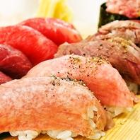 【肉寿司堪能セット】肉寿司5種盛りクーポン利用で800円