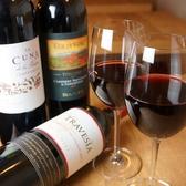 軽めの赤かパンチのきいた重たい赤まで!お好みのワイン見つけてください♪グラス480円(税抜)~ ボトル1900円(税抜)~