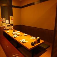 居酒屋うおや一丁鶯谷店は様々なタイプの個室をご用意!