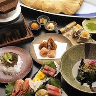 魚料理を中心とした絶品料理の数々