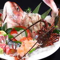 漁師さんも食べにくる新鮮な海鮮と季節の食材