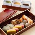 料理メニュー写真京町の三色味噌田楽盛り合わせ