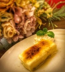 料理メニュー写真自家製濃厚カタラーナ
