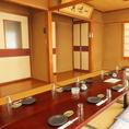 2Fのお座敷個室は8名用・20名用の2部屋ご用意ございます。