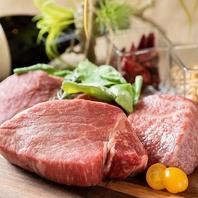 厳選和牛を使った肉料理をご堪能頂けます。