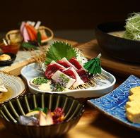 季節の九州料理を楽しむ。おすすめもご用意してます。