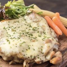 地鶏のチーズチキンソテー