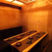 1階のテーブル個室は2名様~対応◎全席個室♪浜松駅 個室 居酒屋 海鮮 焼き鳥 人気店♪最大宴会45名♪