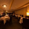 貸切【3Fレストラン】重厚感あふれる豪華なレストランフロア●着席30名~120名●全館ご利用最大500名様まで!