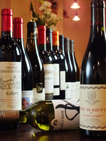 厳選されたワインと日本料理のマリアージュ