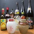 料理との相性抜群の中国酒多数ご用意しております!