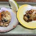 料理メニュー写真月日貝のバター焼き