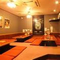 【テレビ付きテーブル席】個室は最大30名様程度までOK!会社宴会にも最適!!