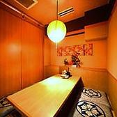 2~6名様×2部屋をつなげて最大14名様の個室としての利用も可能です!