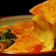 生ハムとチーズのケサディージャ