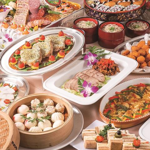 最大収容人数は1000人で1つのお会場で500人を収容し宴会!お料理も豊富!