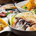 寒い季節にピッタリ!鍋と海鮮を味わう≪本格石狩鍋コース≫(全7品)4,500円