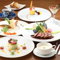 コース料理のお客様のご要望をお受け致します。