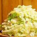 料理メニュー写真白菜のわいすぅ