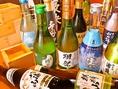 日本酒・焼酎も数多く取り揃え!