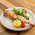 料理メニュー写真特大有頭海老のグリル